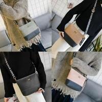 Women Shoulder Bags PU Leather Handbag Bowknot Crossbody Messenger Satchel Purse