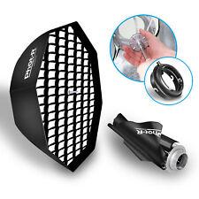 "Phot-R 95cm 38"" Octagon Octabox Umbrella Softbox Elinchrom Flash Honeycomb Grid"