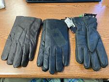 3 PAIR 3M Thinsulate Gloves 40 gram Black Large Black Large and Medium Brown