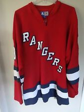 Vintage New York Rangers Parish # 91 Premium Hockey Jersey Men 2XL by Starter