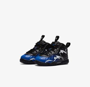 Nike Little Posite One 1996 All-Star (TD) Size 5c 723947-013 NIB