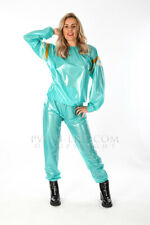 PVC Plastic Vinyl Sauna suit fetish PVC Raincoat imperméable Rain suit
