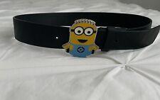 Minion Pu Leather Belt Size S