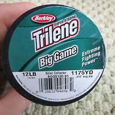 Trilene 12 LB 1175 YD fishing line (lot#6736)
