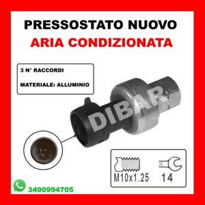 PRESSOSTATO ARIA CONDIZIONATA FIAT BRAVO II 1.6 D MJET KW66 CV90 198A6000 381