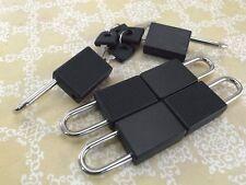 (Lot de 6) Mini Cadenas Couleur noire Petit Minuscule Serrure de Coffre avec clés