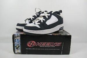 Heelys Vapor Skate Shoes navy/white/LT. Gray UK Size 4 Boxed