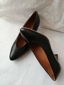 """"""" phenumb """" Court Shoes Women Shoes, Black Leather T 37 New"""