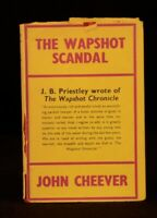 1964 John Cheever The Wapshot Scandal First Edition in Dustwrapper