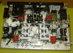 Militärische Radar Anlage SHF Hohlleiter Varian Semi-rigid HF Kabel