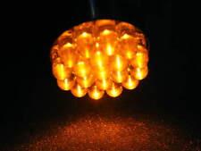 Bombilla led 12 V voltios 21 W vatios amarillo anaranjado lámpara bombilla intermitente pera