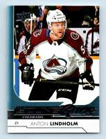 2017-18 Upper Deck Young Guns Anton Lindholm RC #456