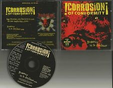 CORROSION OF CONFORMITY Drowning in Daydream PROMO CD Single METALLICA STICKER