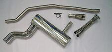 Triumph TR5 TR6 Phoenix Stainless Steel Super Sports Exhaust to standard manifol