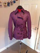 Stylish ESPRIT cotton warm Trenchcoat, COAT 10 UK vgc purple
