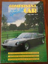 Component & Specialist Car Apr 1986 Lotus Europa, JBA Falcon, Ginetta G27