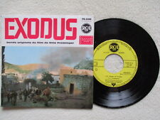 "45T 7"" ERNEST GOLD ""Exodus - Soundtrack Otto Preminger"" RCA 75.646 µ"