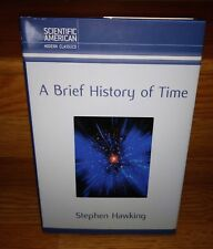 A Brief History of Time Updated Expanded Anniversary Edition Hawking Hardcover