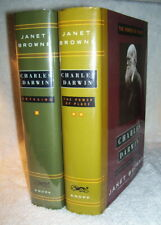 Janet Browne 2 vols  CHARLES DARWIN: VOYAGING & THE POWER OF PLACE 1st/dj  First