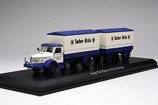 Schuco 1:43 / Tucher Beers Krupp Titan Land-Train Truck / # SHU03036