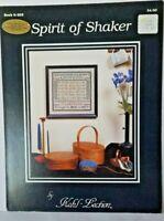 Kohl-Lection Shaker Rules Spirit of Shaker Sampler Cross Stitch Chart S-203