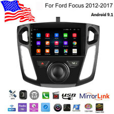 For 2012-17 Ford Focus 9 INCH Android 9.1 Car Stereo Player Radio GPS Navigation