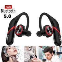 Bluetooth 5.0 Headset TWS Wireless Earphones Mini Earbuds Stereo Headphones IP67