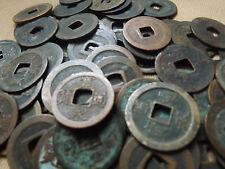JAPANESE 1 MON COIN---KANEI TSUHO--EDO ERA --10 COINS