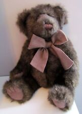 "Bath and Body Works 9"" CINNAMON Dark Brown Plush Bear"