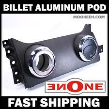 Mookeeh MK1 Cnc Machined Billet Aluminum Air Vent Gauge Pod 05-09 Mustang V6 GT
