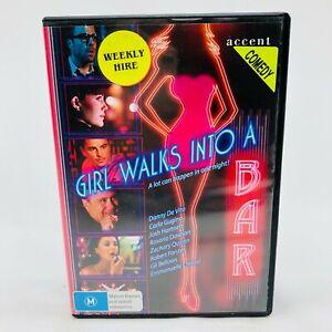 Girl Walks Into A Bar (DVD, 2011) All Regions With Carla Gugino VGC