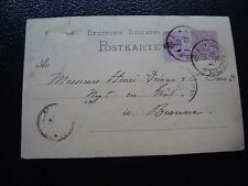 ALLEMAGNE - carte entier 1881 (cy90) germany