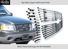 Fits 01-06 Ford Explorer Sport Trac Stainless Steel Billet Grille Insert