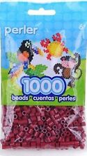 Bulk Buy: 5 x 1,000 Perler Cranapple Color Iron On Fuse Beads 80-19096