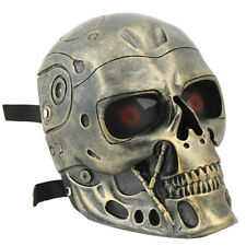 Terminator Fiberglass Mask Army of Two Outdoor Full Face Halloween Skull Mask
