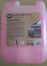 K2 | Super Concentrated Car Antifreeze & Coolant, Radiator | -50°C 20L RED