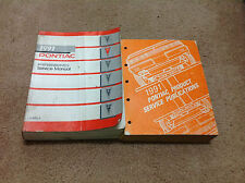 1991 GM Pontiac FIREBIRD Service Shop Repair Workshop Manual Set W Publications
