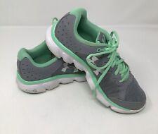 Under Armour Run Micro G Assert 6 1266252-035 Gray Running Shoes Womens Size 8.5