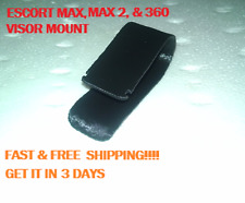 Escort Passport / Beltronic Sun Visor Mount Clip For Max, Max2,Max360 Only