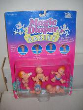 #7465 NRFC Vintage Galoob Magic Diaper Babies Figures