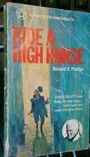 Ride a High Horse by Richard S Prather A Five Star Paperback