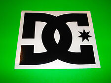 DC SHOES BLACK MOTOCROSS SNOWBOARD WAKEBOARD SKATEBOARD QUAD BMX STICKER DECAL @