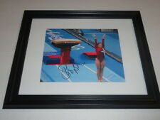 SHAWN JOHNSON SIGNED FRAMED AND MATTED 8X10 PHOTO IN 11X14 FRAME USA GYMASTICS