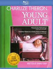 Young Adult (Blu-ray + Digital Copy, 2012) Charlize Theron, Patton Oswalt