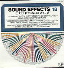 EFFETTI SONORI vol.18 sound effects LP library SEALED