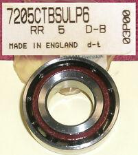KT-100 Yamaha Engine Crankshaft Bearings Angular Contact RHP 7205 Motor Go Kart