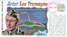 COVERSCAPE computer designed actor Les Tremayne 100th anniversary event cover