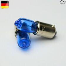 2x H6W 12V BAX9S Standlicht Blau Halogen Lampe E-geprüft