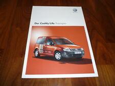 VW Caddy Life autostop PROSPEKT 05/2008