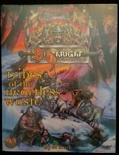 TSR Dungeons & Dragons Birthright RPG Book - Tribes of the Heartless Waste - NEW